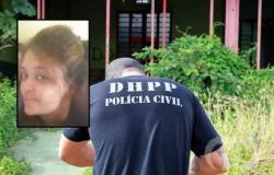 Jovem encontrada morta deixou bilhete ligando namorado ao seu sumiço
