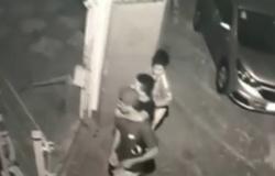 Câmera flagra latrocínio em bairro de luxo em Cuiabá