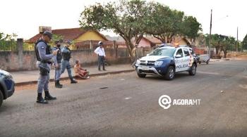 Tentativa de homicídio foi registrada na tarde desta quarta na Vila Nazaré (Foto: Lorraine Costa – TV Vale Record)