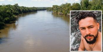 Corpo de Bombeiros continua buscas por corpo de jovem que desapareceu domingo no Rio Sepotuba