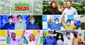 Candidatos a prefeito e vice já anunciados pelos partidos em Tangará da Serra (Em ordem de data da convenção).