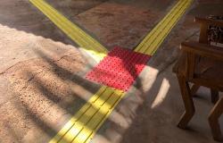 Campus da Unemat de Tangará da Serra implanta piso tátil para melhorar a acessibilidade