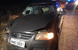 Polícia tenta identificar idoso que morreu atropelado em Deciolândia