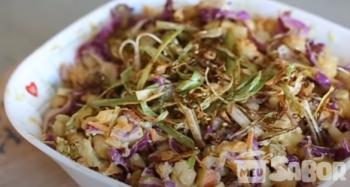 Salpicão de grão de bico – vegetariano