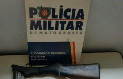 Homem é detido no assentamento 'Oziel Pereira' por porte ilegal de arma de fogo