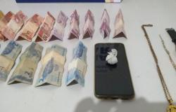 Polícia prende homem por tráfico de entorpecentes no Centro de Tangará