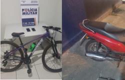 Suspeito furta objetos, tenta fugir, mas é preso pela PM em Tangará