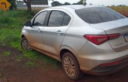 Veículo roubado em Cuiabá é localizado pela Polícia Militar de Denise