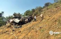 Caminhoneiro cai em ribanceira e morre na Serra da Deciolândia