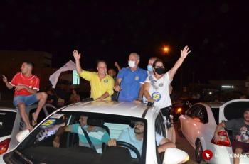 Prefeito Zé Elpídio comemora reeleição e diz que o 'trabalho continua'