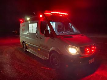 Mulher que seguia de moto para Barra do Bugres fica ferida após acidente entre Tangará e Progresso