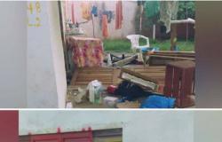 Homem manda mãe sair de casa e quebra porta, janelas, móveis e utensílios em Campo Novo