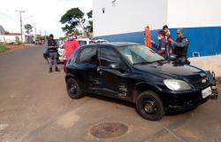 Acidente entre dois carros é registrado no bairro Tangará II