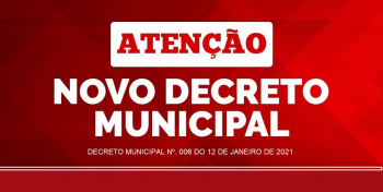 PANDEMIA: Prefeito assina novo Decreto com medidas de enfrentamento ao coronavírus em Nova Olímpia