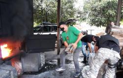 Polícia Civil incinera meia tonelada de entorpecentes apreendidos em Campo Novo do Parecis