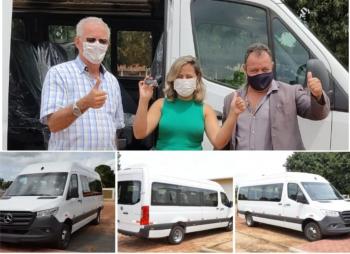 Governo entrega Micro-ônibus para transportes de pacientes da Saúde