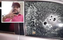 Bandidos metralham motorista dentro de SW4 em MT; veja fotos