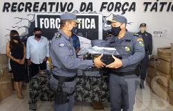 Policiais Militares do 7º Comando Regional recebem novos fardamentos