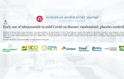 Nitazoxanida: estudo clínico é publicado no European Respiratory Journal