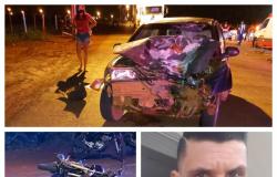 Colisão entre moto e carro provoca morte em Tangará da Serra