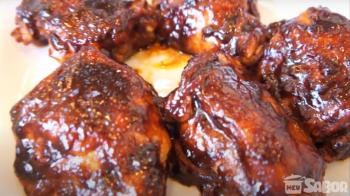 Aprenda a fazer um maravilhoso frango ao molho barbecue!