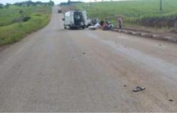 Jovem tem pé arrancado em acidente com caminhão em MT