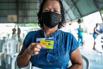 Secretário de Estado entrega cartões do Ser Família Emergencial em Barra do Bugres, Nova Olímpia e Tangará da Serra nesta quarta (05)