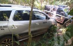 PJC TANGARÁ - Em resposta rápida, polícia recupera veículo roubado de taxista