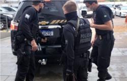 Polícia federal prendeu hoje traficante internacional de drogas em Arenápolis
