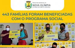 Famílias carentes de Nova Olímpia são beneficiadas pelo Programa Ser Família Emergencial