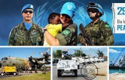 29 de Maio - Dia Internacional dos Soldados da Paz das Nações Unidas