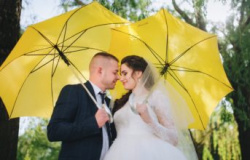O que fazer se chover no dia do casamento?
