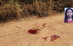 Mulher é assassinada com 28 golpes de faca e corpo é encontrado sem roupas em estrada rural