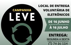 NOVA OLÍMPIA: Campanha LEVE vai arrecadar lixo eletrônico em prol do Hospital de Câncer de Mato Grosso