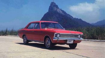 Divulgação -Chevrolet Opala: sedã lançado em 1968 no Brasil se mantém até hoje como um dos carros mais lembrados do País