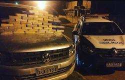 Barreira policial montada para bandidos no Novo Cangaço termina com homem preso portando 50 quilos de cocaína