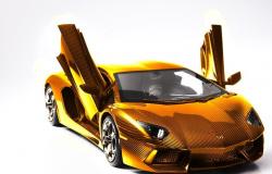 O Lamborghini mais caro do mundo é feito de ouro maciço e pedras preciosas