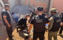 Polícia troca tiros com quadrilha flagrada com drone no PCE