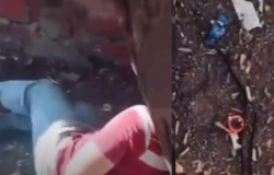 Vídeo mostra policiais salvando a vida de homem que seria executado no tribunal do crime