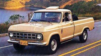 Divulgação -A picape C-10 de 1974 foi uma evolução das arcaicas C14 e C15 e foi bem aceita no mercado brasileiro