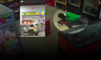 Bandido se atrapalha, atira no próprio pescoço e morre durante assalto a posto