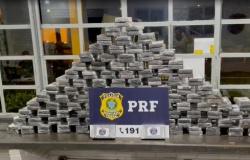 Pai e filho saem de MT com 220 kg de cocaína e são presos em Goiás