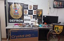 Policiais civis e militares deflagram operação contra ações criminosa