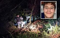 Jovem desaparece e é encontrado morto em ribanceira em MT