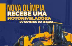 Comitiva de Nova Olímpia participa da maior entrega de máquinas e equipamentos do Governo do Estado