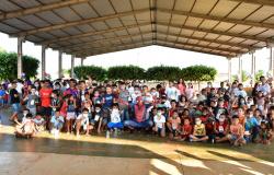 Prefeitura de Nova Olímpia realizou 'Tarde Encantada' em comemoração ao Dia das Crianças