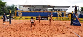 Definidas semifinais do Circuito Banco do Brasil de Vôlei de Praia do Sub-23