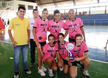 Basquete feminino de Alta Floresta fica com o vice-campeonato nos Jorem´s