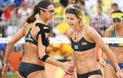 Favoritas, Larissa e Talita caem diante de alemãs e vão disputar bronze no vôlei de praia