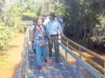 Princesa da Tailândia faz visita a Alta Floresta